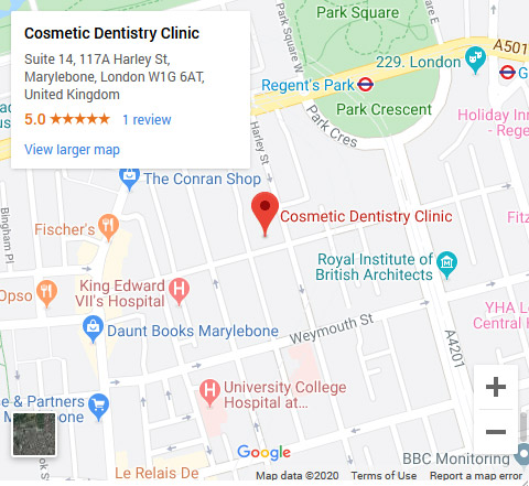 Cosmetic Dentistry Clinic Google Map